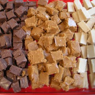 Cinnabun, Chocolate, or Peanut Butter Fudge!.