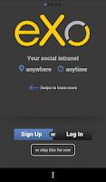 Screenshot of eXo