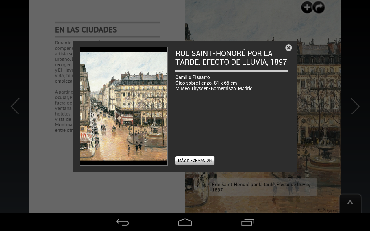 Museo Thyssen - Kiosk- screenshot