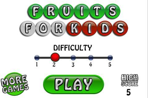 Learn Fruit for Kids