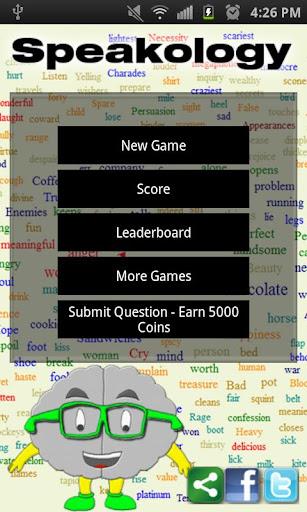 Speakology - Speak Cliche Quiz