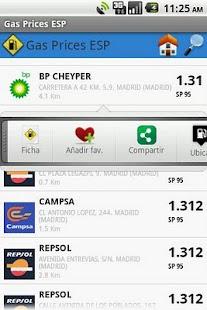 Gas Prices ESP Lite- screenshot thumbnail
