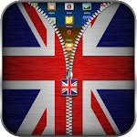 UK Flag Zipper Lock 11.2 Apk