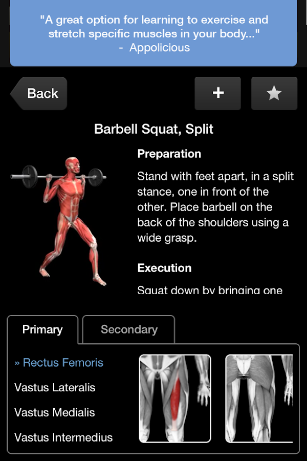 iMuscle 2- screenshot