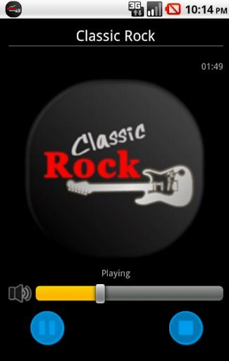 Classic Rock Radio Station