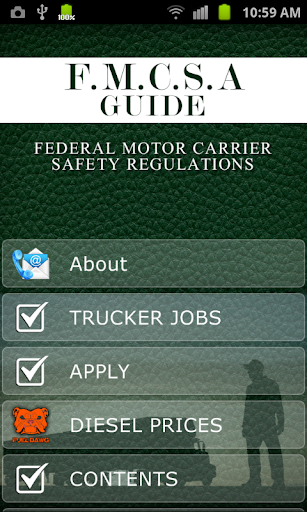 FMCSA RULES REGULATIONS