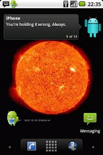 Sun Live Wallpaper Free - screenshot thumbnail