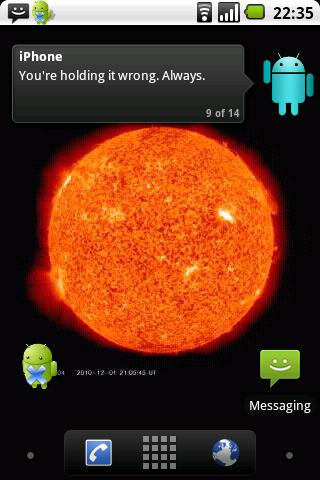 Sun Live Wallpaper Free- screenshot