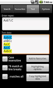 Regex Dictionary Lite - screenshot thumbnail