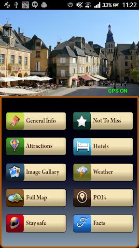 Sarlat la Caneda Offline Guide
