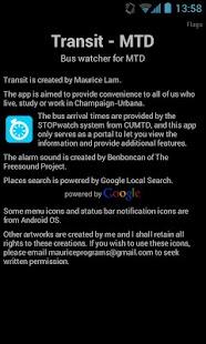 Transit - CUMTD- screenshot thumbnail
