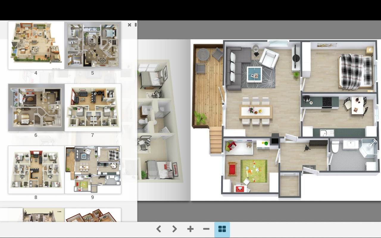 3d home plans android apps on google play for In plan 3d