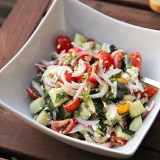 Easy Greek Chopped Salad