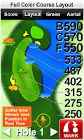 Screenshot of Sonocaddie 2 Golf GPS