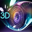 Fondo de pantalla 3D icon