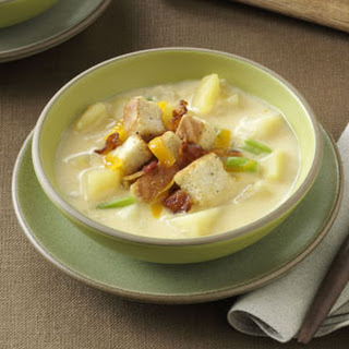 Cream of Potato & Cheddar Soup