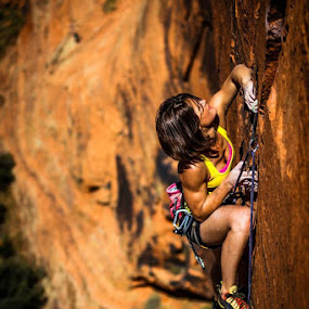 Pitch 3 Crux-Richness by Ryan Skeers - Sports & Fitness Climbing