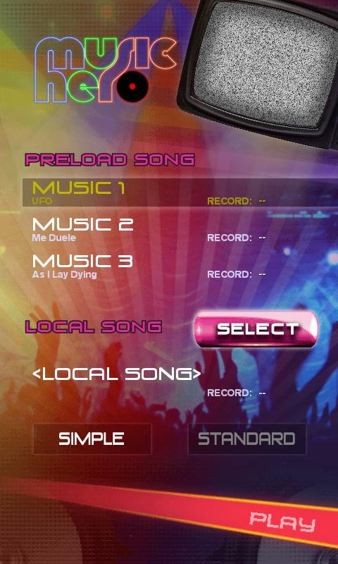 Screenshots of Music Hero for iPhone