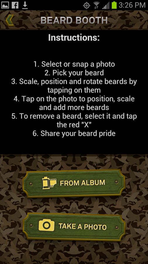 Duck Dynasty Beard Booth- screenshot