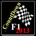 F1 CountDown 2013 icon