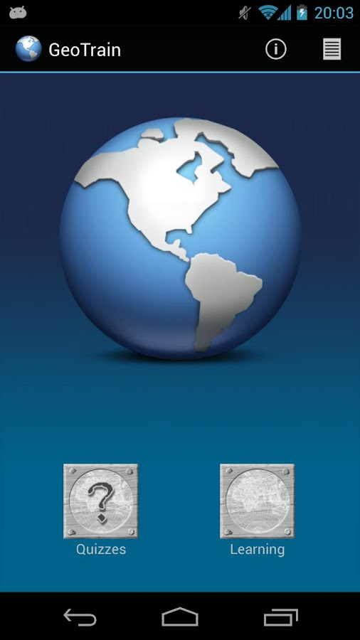 GeoTrain - Flags & Capitals - screenshot