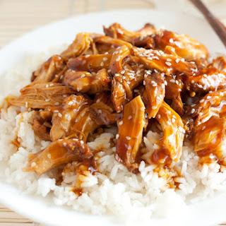 Slow Cooker Chicken Teriyaki.