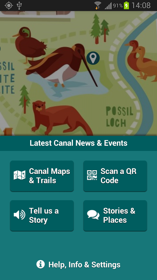Unlocking Glasgow's Canals- screenshot
