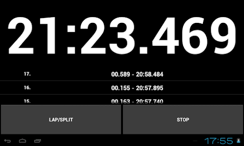 Simple Stopwatch Pro screenshot 14