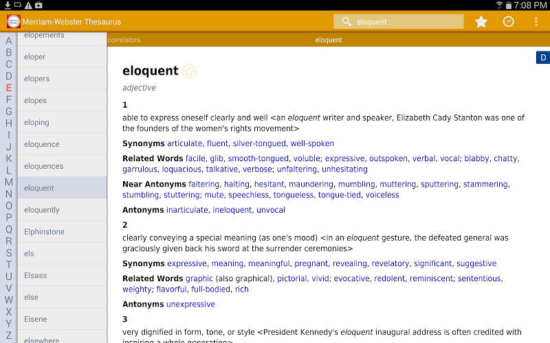Dictionary - M-W Premium Screenshot 9