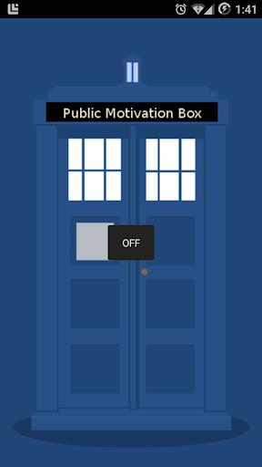 Motivoctor - Dr Who Motivator