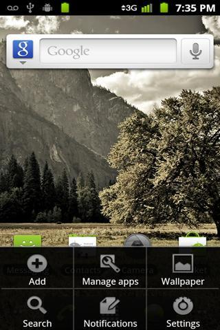 Launcher 2 for QHD - screenshot