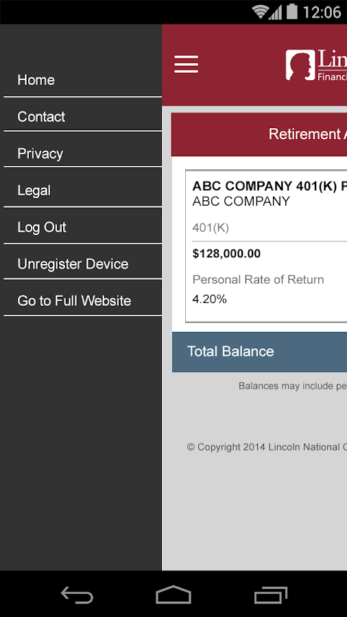 Lincoln Financial Mobile Android Apps On Google Play