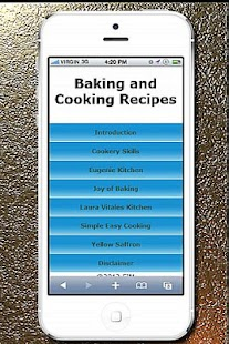 Baking and Cooking Recipes - screenshot thumbnail