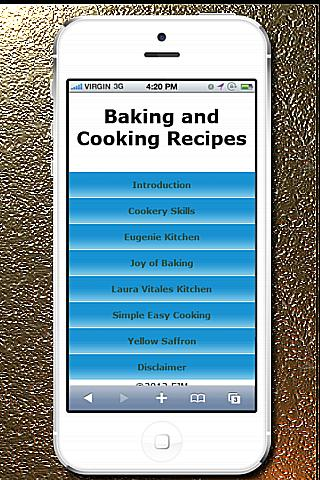 Baking and Cooking Recipes - screenshot