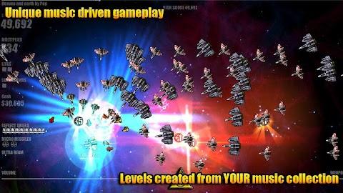 Beat Hazard Ultra (Demo) Screenshot 1