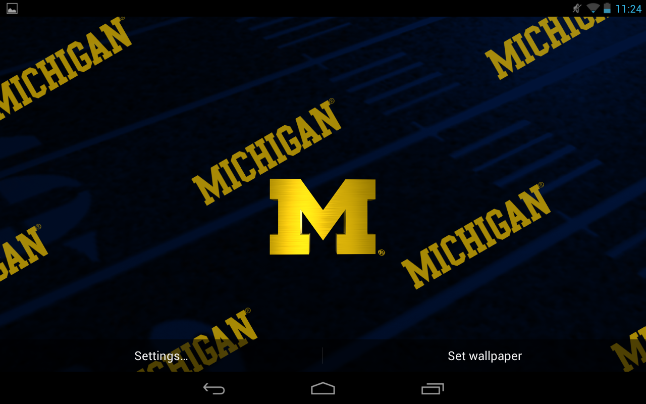 Michigan Wolverines Football Iphone Wallpaper 2016