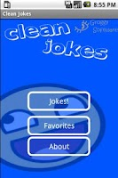 Screenshot of Clean Jokes