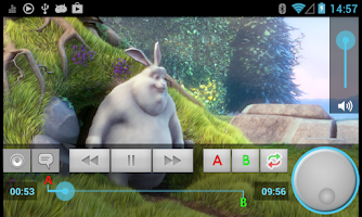 Screenshot of YXS Video Player