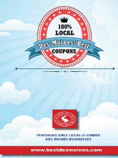 【免費購物App】Des Moines' Best Coupons-APP點子