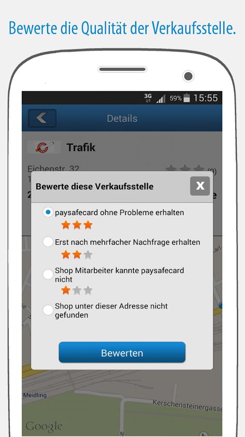 Paysafecard Google Play