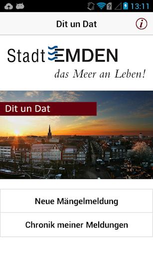 Dit un Dat Stadt Emden