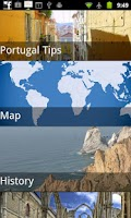 Screenshot of Portugal Travel Guide