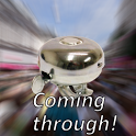 Coming Through! - Bicycle bell icon