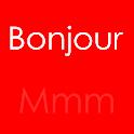 Bonjour Mmm logo
