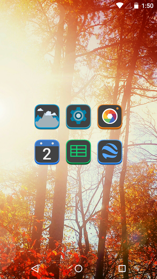 Dekk - Icon Pack- screenshot