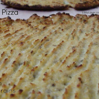 Cauliflower Pizza Crust (Paleo, GAPS Nut, Dairy & Grain-free)