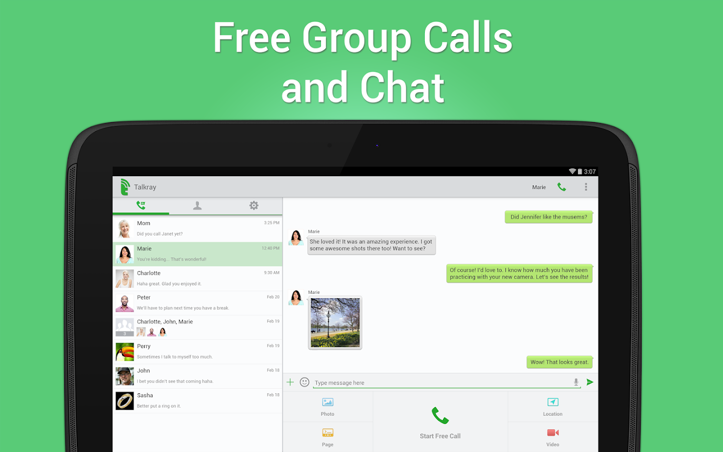 Talkray - Free Calls and Text - screenshot