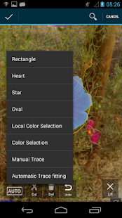 Trace and Crop for Photos- screenshot thumbnail