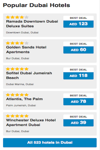 旅遊 Dubai Hotels Booking 癮科技
