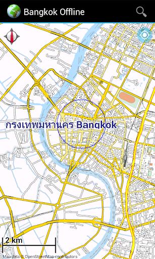 Offline Map Bangkok Thailand